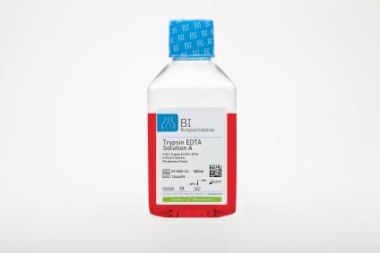 Trypsin EDTA Solution A (0.25%), EDTA (0.02%)