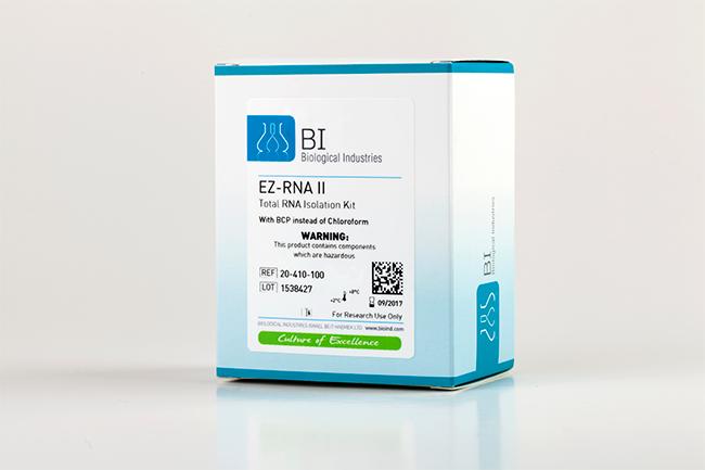 ez rna ii total rna isolation kit with bcp no chloroform
