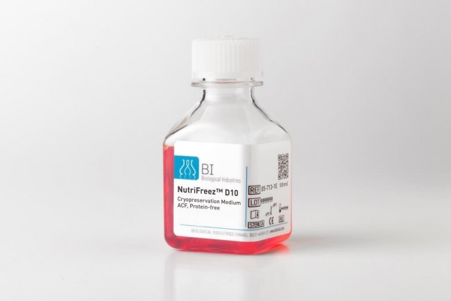 Nutrifreez D10 Medium Cryopreservation Of A Variety Of
