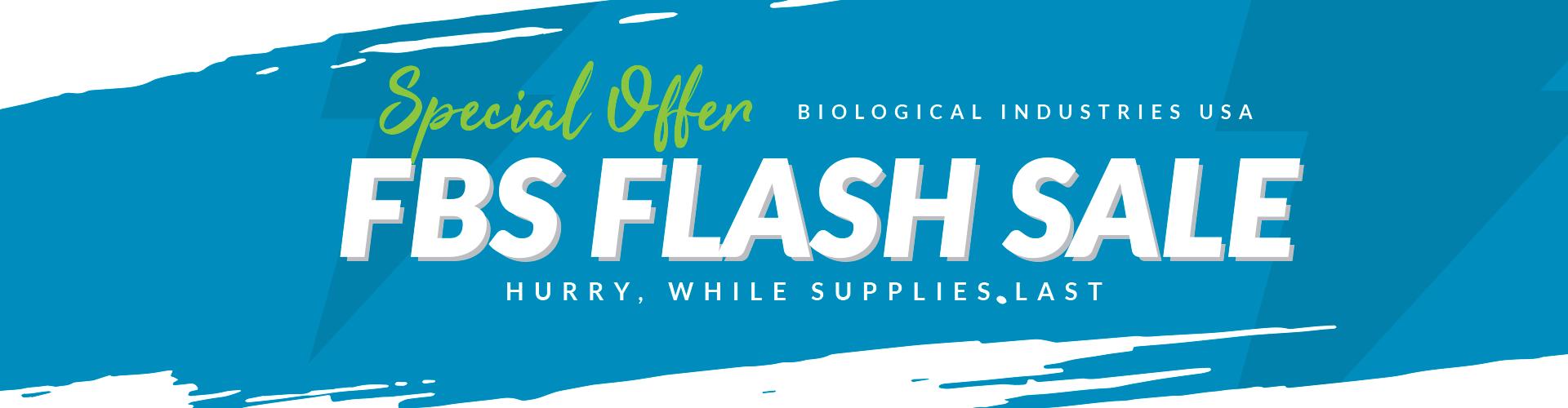 FBS Flash Sale